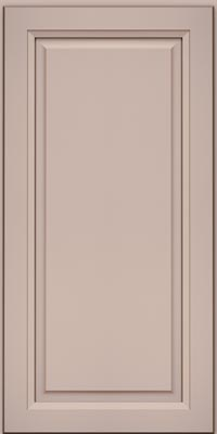 Square Raised Panel - Solid (PKM1) Maple in Chai w/Cocoa Glaze - Wall