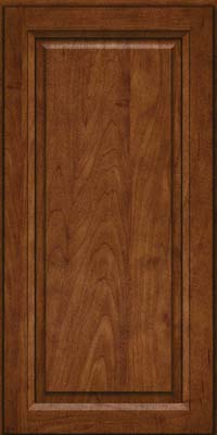 Square Raised Panel - Solid (PKM) Maple in Cognac - Wall