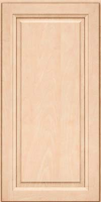 Square Raised Panel - Solid (PKM) Maple in Parchment - Wall