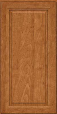 Square Raised Panel - Solid (PKM) Maple in Praline - Wall