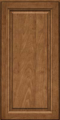 Square Raised Panel - Solid (PKM) Maple in Rye - Wall