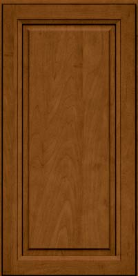 Square Raised Panel - Solid (PKM) Maple in Rye w/Sable Glaze - Wall