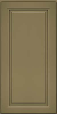 Square Raised Panel - Solid (PKM) Maple in Sage - Wall
