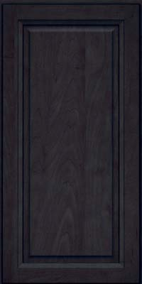 Square Raised Panel - Solid (PKM) Maple in Slate - Wall