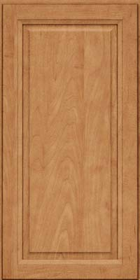 Square Raised Panel - Solid (PKM) Maple in Toffee - Wall