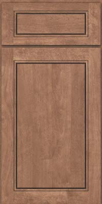 Square Raised Panel - Solid (PVB) Birch in Husk - Base