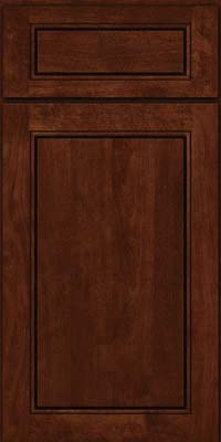 Square Raised Panel - Solid (PVB) Birch in Kaffe - Base