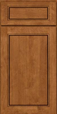 Square Raised Panel - Solid (PVB) Birch in Rye - Base