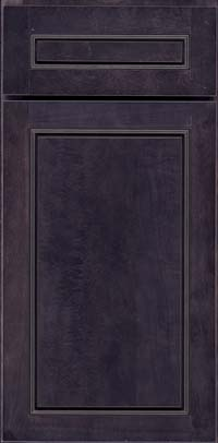 Square Raised Panel - Solid (PVB) Birch in Slate - Base