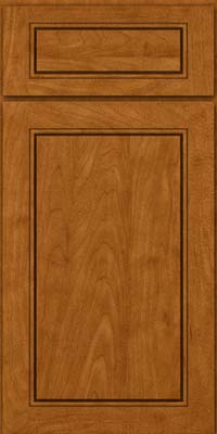 Square Raised Panel - Solid (PVM) Maple in Golden Lager - Base