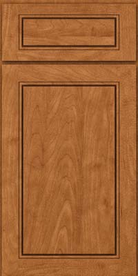 Square Raised Panel - Solid (PVM) Maple in Praline - Base