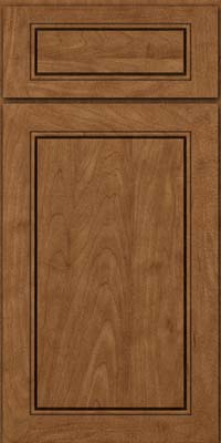 Square Raised Panel - Solid (PVM) Maple in Rye - Base