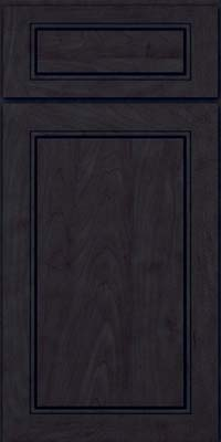 Square Raised Panel - Solid (PVM) Maple in Slate - Base