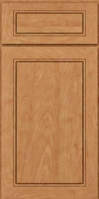 Square Raised Panel - Solid (PVM) Maple in Toffee - Base