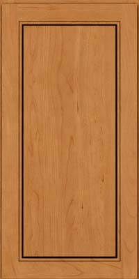 Square Raised Panel - Solid (PVB) Birch in Honey Spice - Wall