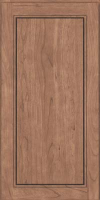 Square Raised Panel - Solid (PVB) Birch in Husk - Wall