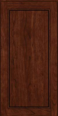 Square Raised Panel - Solid (PVB) Birch in Kaffe - Wall