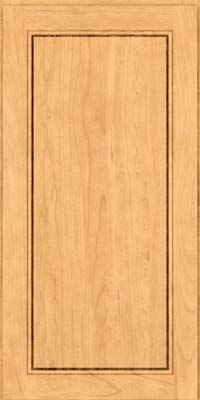 Square Raised Panel - Solid (PVB) Birch in Natural - Wall