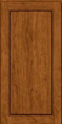 Square Raised Panel - Solid (PVB) Birch in Praline - Wall