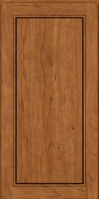 Square Raised Panel - Solid (PVB) Birch in Rye - Wall