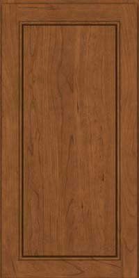 Square Raised Panel - Solid (PVC) Cherry in Rye - Wall