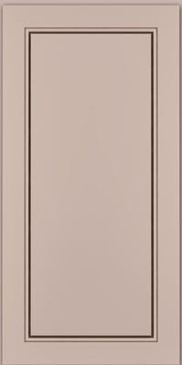 Square Raised Panel - Solid (PVM1) Maple in Chai w/Cocoa Glaze - Wall
