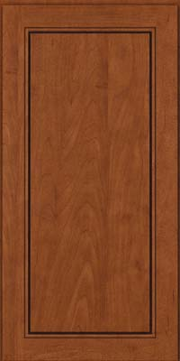 Square Raised Panel - Solid (PVM) Maple in Chestnut - Wall
