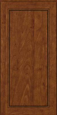 Square Raised Panel - Solid (PVM) Maple in Cognac - Wall