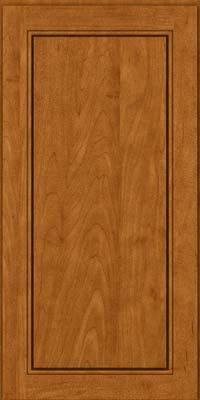 Square Raised Panel - Solid (PVM) Maple in Golden Lager - Wall