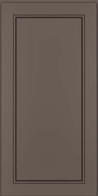 Square Raised Panel - Solid (PVM) Maple in Greyloft w/ Sable Glaze - Wall