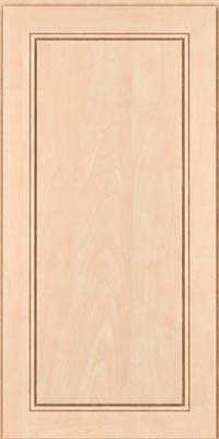 Square Raised Panel - Solid (PVM) Maple in Parchment - Wall