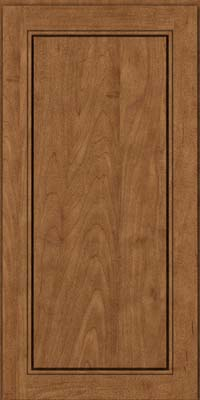 Square Raised Panel - Solid (PVM) Maple in Rye - Wall