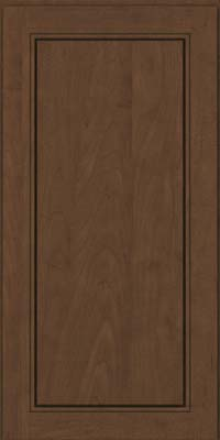 Square Raised Panel - Solid (PVM) Maple in Saddle Suede - Wall