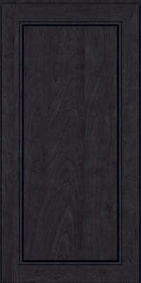 Square Raised Panel - Solid (PVM) Maple in Slate - Wall