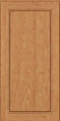 Square Raised Panel - Solid (PVM) Maple in Toffee - Wall