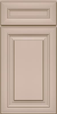 Square Raised Panel - Solid (RTM1) Maple in Chai - Base