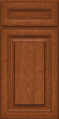 Square Raised Panel - Solid (RTM) Maple in Chestnut - Base