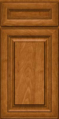 Square Raised Panel - Solid (RTM) Maple in Golden Lager - Base