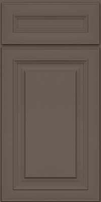 Square Raised Panel - Solid (RTM) Maple in Greyloft - Base