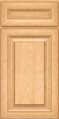 Square Raised Panel - Solid (RTM) Maple in Honey Spice - Base