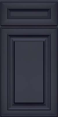 Square Raised Panel - Solid (RTM) Maple in Midnight w/ Onyx Glaze - Base