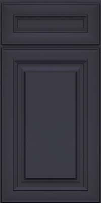Square Raised Panel - Solid (RTM) Maple in Midnight - Base