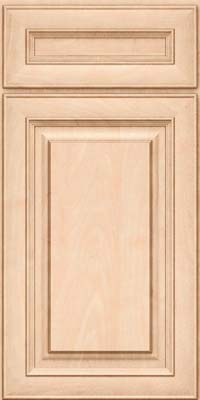 Square Raised Panel - Solid (RTM) Maple in Parchment - Base