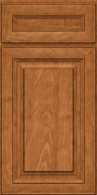 Square Raised Panel - Solid (RTM) Maple in Praline - Base