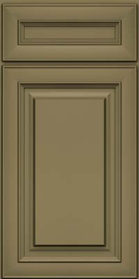 Square Raised Panel - Solid (RTM) Maple in Sage - Base