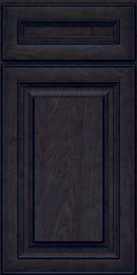 Square Raised Panel - Solid (RTM) Maple in Slate - Base