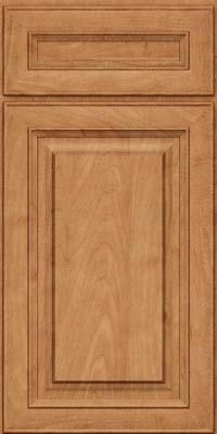Square Raised Panel - Solid (RTM) Maple in Toffee - Base