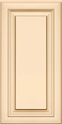 Square Raised Panel - Solid (RTM) Maple in Biscotti w/Cocoa Glaze - Wall