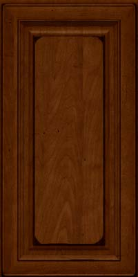 Square Raised Panel - Solid (RTM) Maple in Burnished Chestnut - Wall