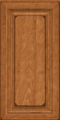 Square Raised Panel - Solid (RTM) Maple in Burnished Praline - Wall